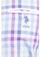 U.S.Polo Assn. Kareli Gömlek Pembe